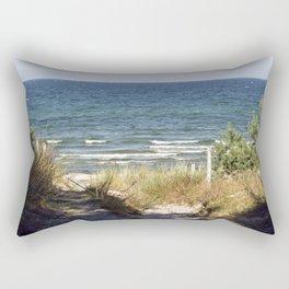 Sand Dune on the Isle of Ruegen Rectangular Pillow
