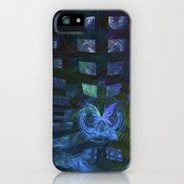 Schmetterling-Effekt iPhone Case