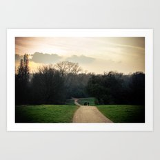 Into The Mystic - London Art Print