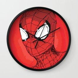 Responsibility - Spidey Wall Clock