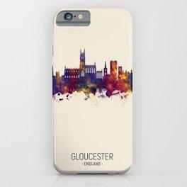 Gloucester England Skyline iPhone Case