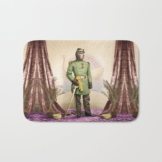 General Simian of the Glorious Banana Republic Bath Mat