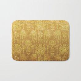 Victorian Potpourri - Faded Splendor Rich Satin - TOPAZ Bath Mat