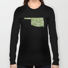 Oklahoma in Flowers Long Sleeve T-shirt