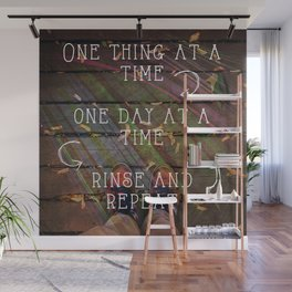 One Day at a Time Wall Mural