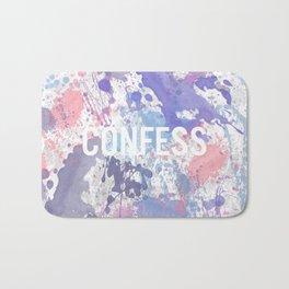 Confess - inverted Bath Mat