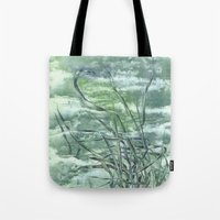 grass Tote Bags featuring GRASS by AMULET