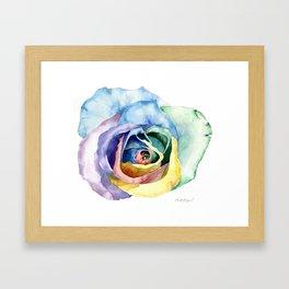 Wacky Rose Framed Art Print