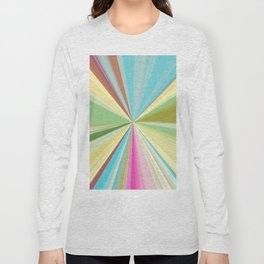 415 Abstract Colour design Long Sleeve T-shirt