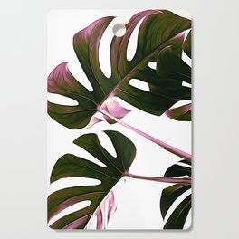 Monstera Illustration Cutting Board
