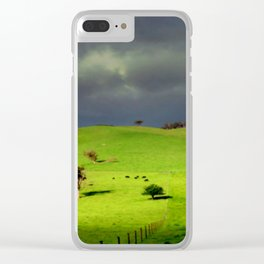 Ominous Clear iPhone Case