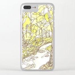 Eno River #7 Clear iPhone Case