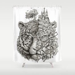 Equilibrium Shower Curtain