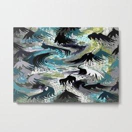 Mosaic Abstract Design - 02 Metal Print