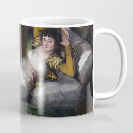 Francisco Goya - The Clothed Maja Coffee Mug