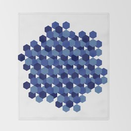 Hexagons Throw Blanket