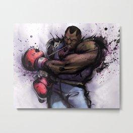 Full Boxing Metal Print