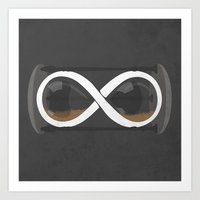 infinity Art Prints featuring infinity by jerbing