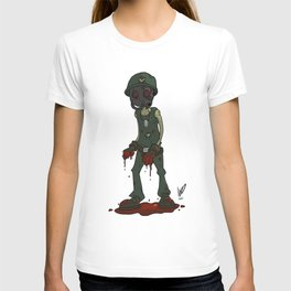 infected soldier T-shirt