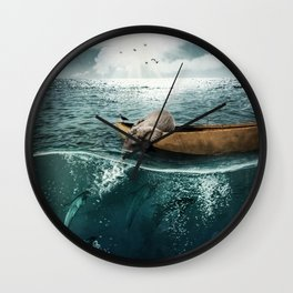One summer day... Wall Clock