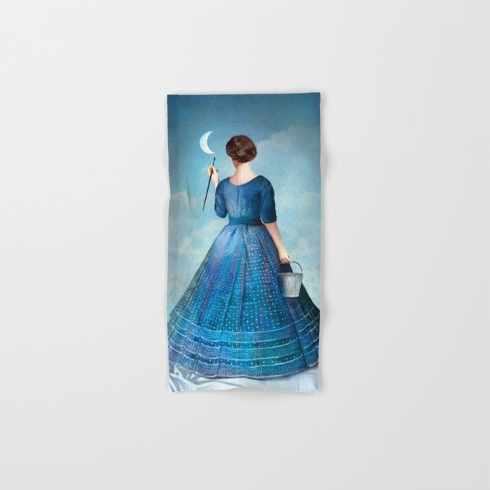 Nachtmalerei Hand & Bath Towel