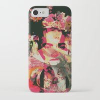 frida iPhone & iPod Cases featuring Frida by Fernando Vieira