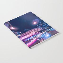 Tokyo Neon Night Light Notebook