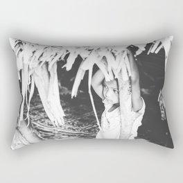 Orang Asli girl Rectangular Pillow