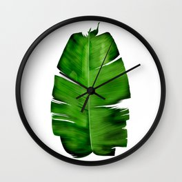 BANANA LEAF painting iPhone 4 4s 5 5c 6 7, pillow case, mugs and tshirt Wall Clock