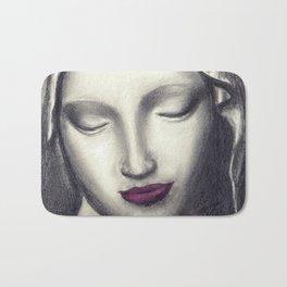 Michelangelo Madonna  Bath Mat