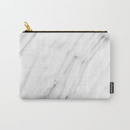 White Marble Edition 1 Carry-All Pouch