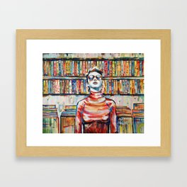 Vhs Vinilos Revisited Framed Art Print