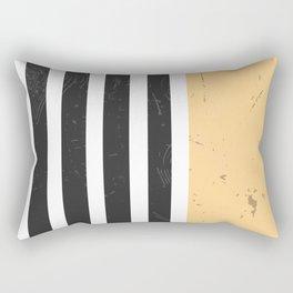LIGHT CORN STRIPES Rectangular Pillow