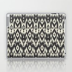 Black & Cream Tribal Ikat Laptop & iPad Skin