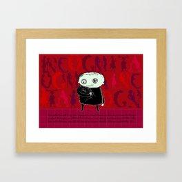 Heroine Protagonist Framed Art Print