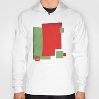 square Hoodies featuring Square by Difilippo
