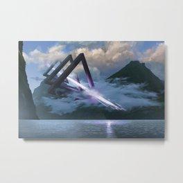 The Triad Metal Print