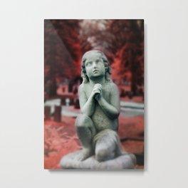 Kneel and Pray  Metal Print
