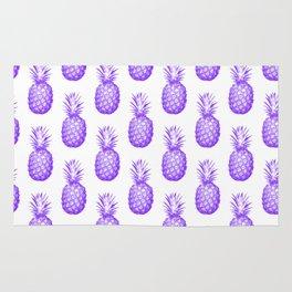 Purple Pineapple Rug
