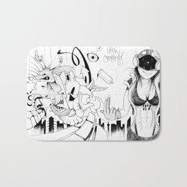 Draw Something Bath Mat
