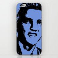 elvis presley iPhone & iPod Skins featuring Elvis Presley by Bill Murray