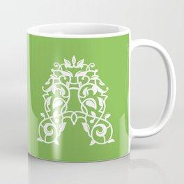 """A"" Vine Coffee Mug"
