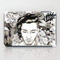 zayn iPad Cases featuring tattoospire - Zayn by wreckthisjessy