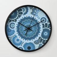 gypsy Wall Clocks featuring GYPSY by Monika Strigel