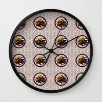 hocus pocus Wall Clocks featuring Hocus Pocus by GeekCircus