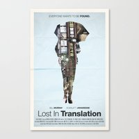lost in translation Canvas Prints featuring Lost In Translation by Bill Pyle