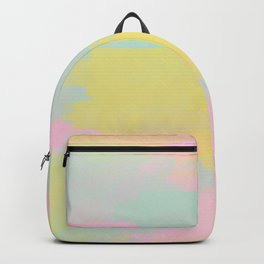 Abstract Pastel Watercolor Backpack