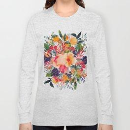 Autumn watercolor bouquet Long Sleeve T-shirt