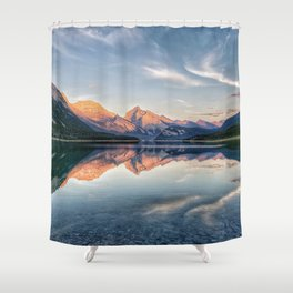 Symphony of Stillness Shower Curtain