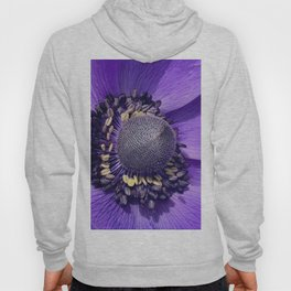 Anemone Purple Love Hoody